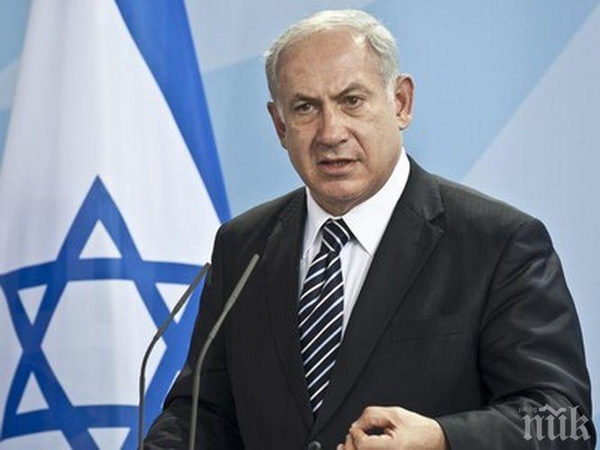 КАТЕГОРИЧЕН! Нетаняху няма да подава оставка
