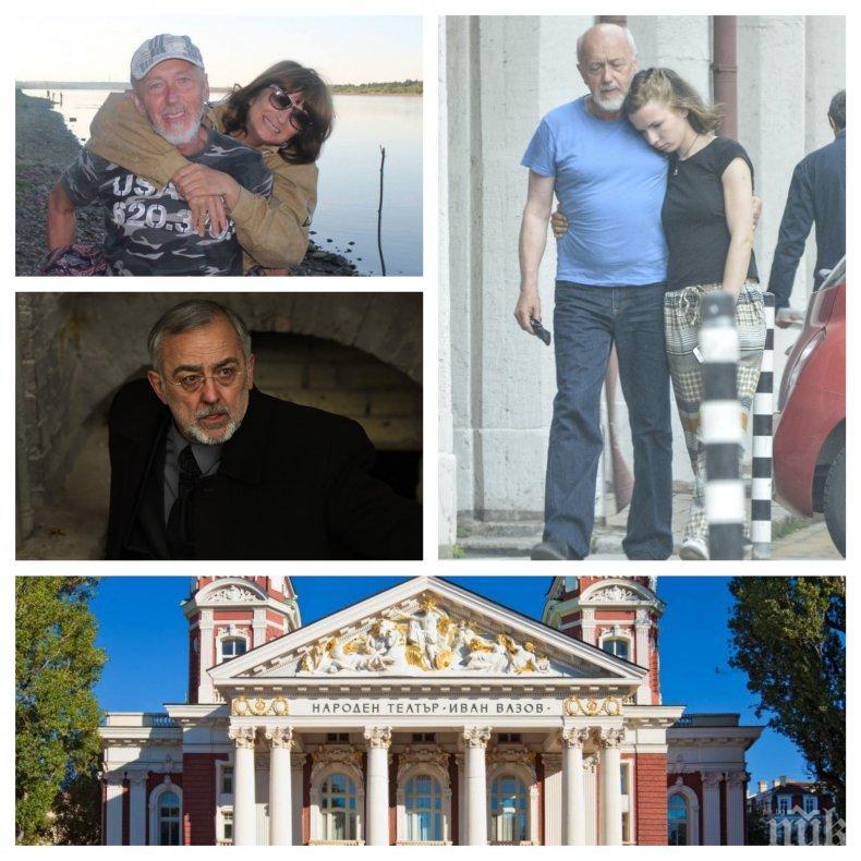 ЕКСКЛУЗИВНО! Стоян Алексиев проговори след скандалните снимки: Жена ми знае всичките ми връзки! Мариус Донкин ме пенсионира два пъти, а моята Ивана е голям талант!