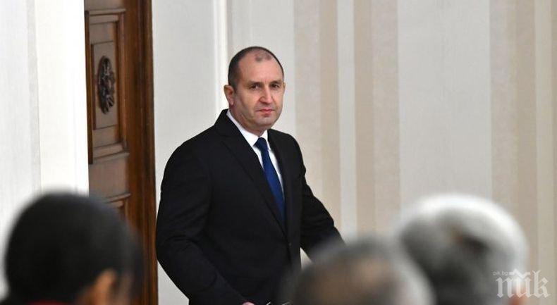 Президентът Румен Радев се срещна с арменския премиер