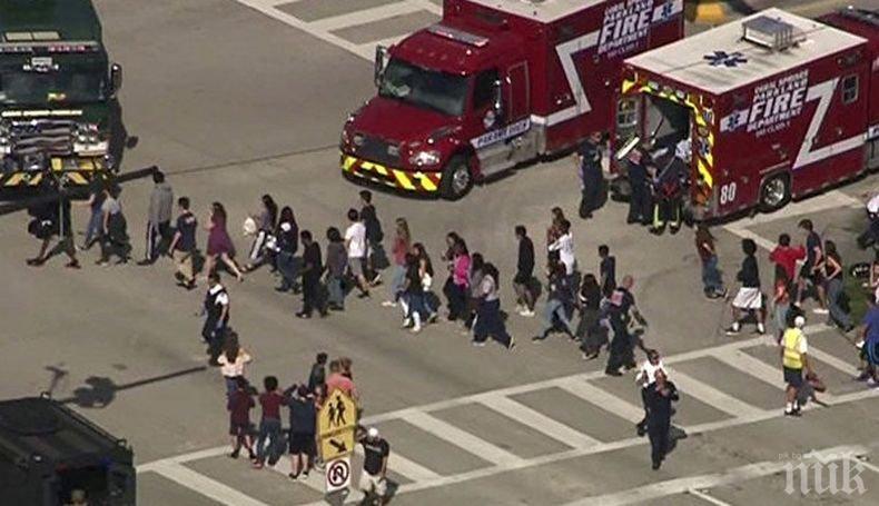 Сенатор Бил Нелсън: Има няколко загинали при стрелбата във Флорида