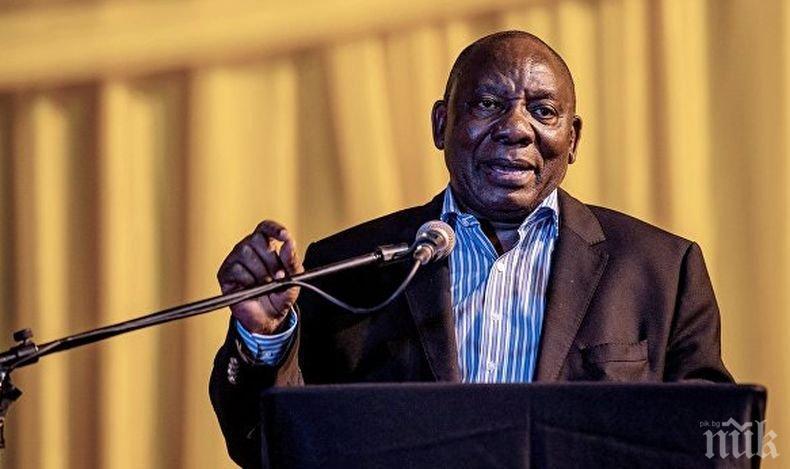 Вицепрезидентът на ЮАР временно ще поеме поста на държавен глава на страната