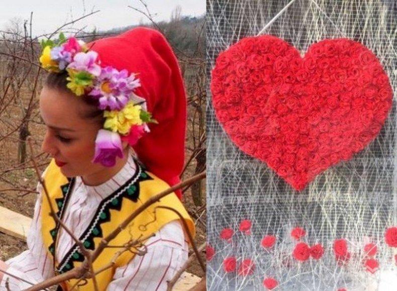 ЕДИНСТВЕНИ В СВЕТА! Празнуваме и Свети Трифон, и Свети Валентин! С вино и любов (ПОДРОБНОСТИ)