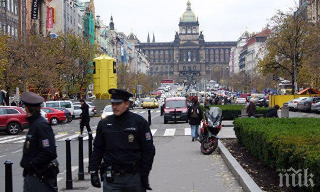 Подозрителен бял прах е бил получен в чешкото посолство в Русия