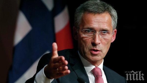 Йенс Столтенберг: Всички в НАТО са наясно, че бюджетите за отбрана трябва да растат