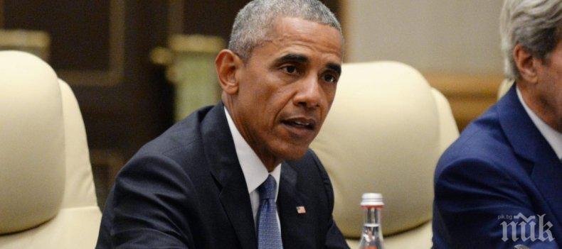 Изпратиха пакет с бял прах на Обама, оказа се... бебешка пудра