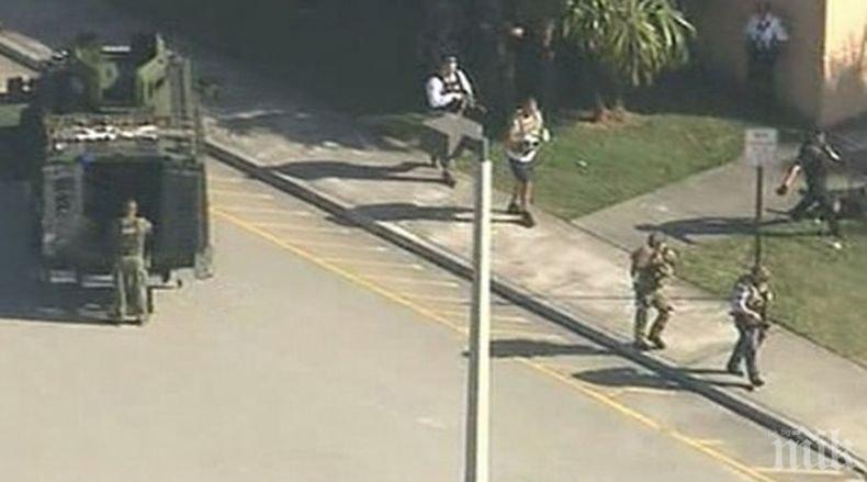 След стрелбата в училището във Флорида: Един убит, 14 ранени. Нападателят е заловен и изпратен в болница