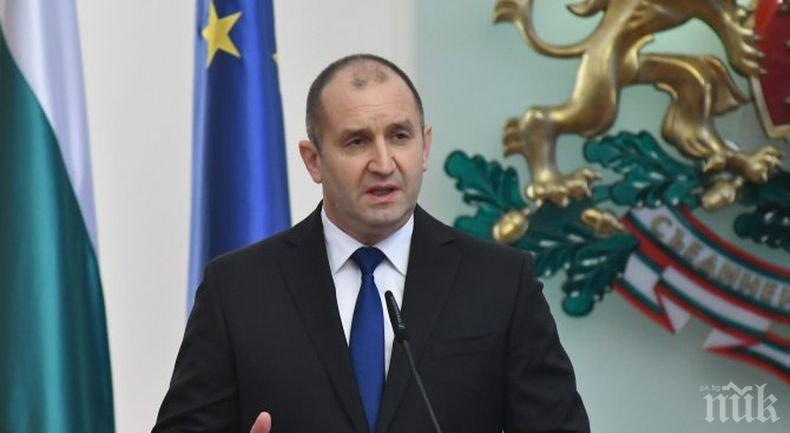 Румен Радев се срещна с външния министър на Македония