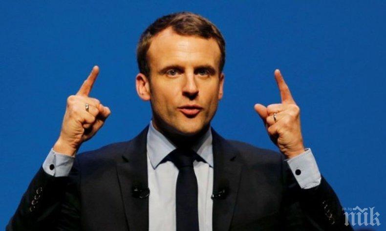 Макрон: Франция ще удари Сирия, ако се потвърди употребата на химическо оръжие от страна на правителството