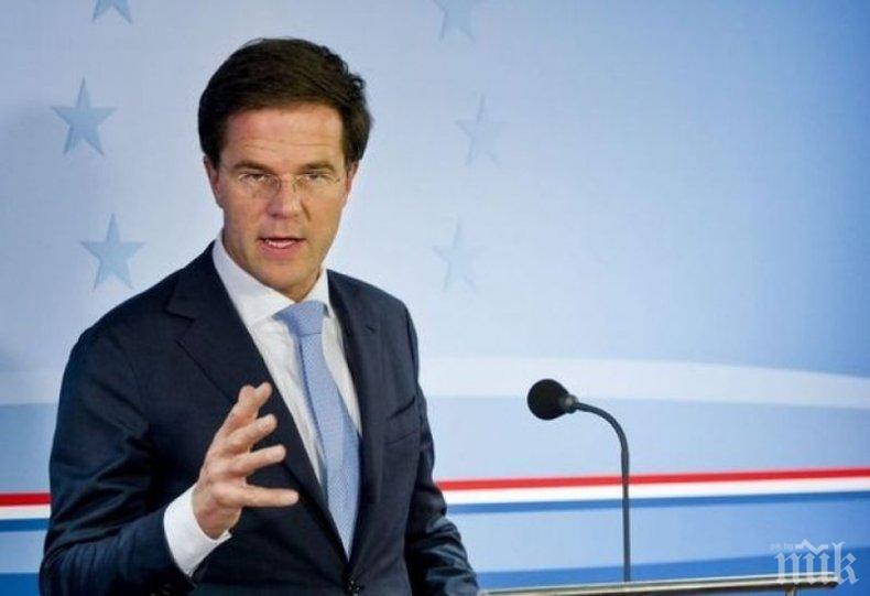 Холандското правителство оцеля при вот на недоверие