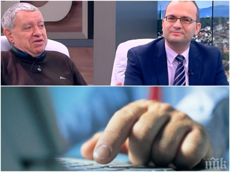 ИСКРИ В ЕФИР! Електронното гласуване скара проф. Константинов и Мартин Димитров