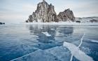 Ентусиасти се състезаваха върху леда на езерото Байкал (ВИДЕО)