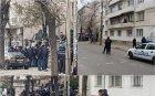 САМО В ПИК! НЕВИЖДАН ЕКШЪН: Левскари вилнеят на столична улица, барикадираха се в заведение, хвърлят бомби и бутилки по полицията (ВИДЕО/СНИМКИ)