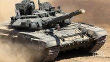 Доставка!  Ирак е получил 36 от общо 73 поръчани руски танка Т-90