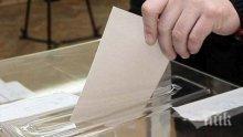 В 8 населени места в страната се провеждат частични кметски избори