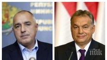 ИЗВЪНРЕДНО И ПЪРВО В ПИК TV! Бойко Борисов с важни новини след срещата с Виктор Орбан (ОБНОВЕНА)