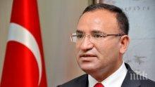 """Турският вицепремиер Бекир Боздаг определи докладите, че Сирия помага на кюрдите, като """"фалшиви"""""""
