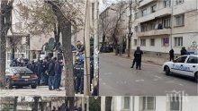 САМО В ПИК! Екшънът се разгаря, почерня от жандармерия заради невиждан бой на агитки (ВИДЕО/СНИМКИ)