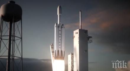 От Space X отложиха изстрелването на испански спътник
