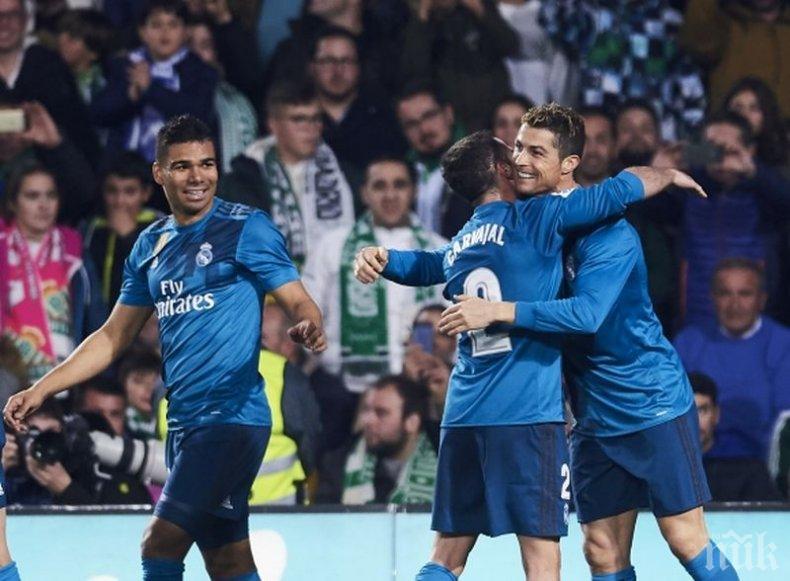 НЯМА СПИРАНЕ! Реал (Мадрид), Серхио Рамос и Кристиано с нови рекорди