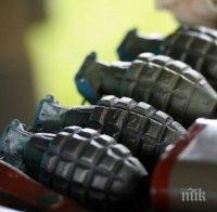 Откриха 3 стари гранати в къща край Монтана