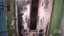Асансьор във Варна се запали