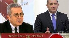 ЕКСКЛУЗИВНО! Йордан Цонев изплю камъчето: Избирателите на ДПС гласуваха за Радев, аз също!