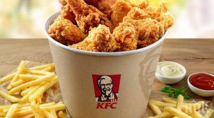 Криза в KFC на Острова! Свършиха им пилетата