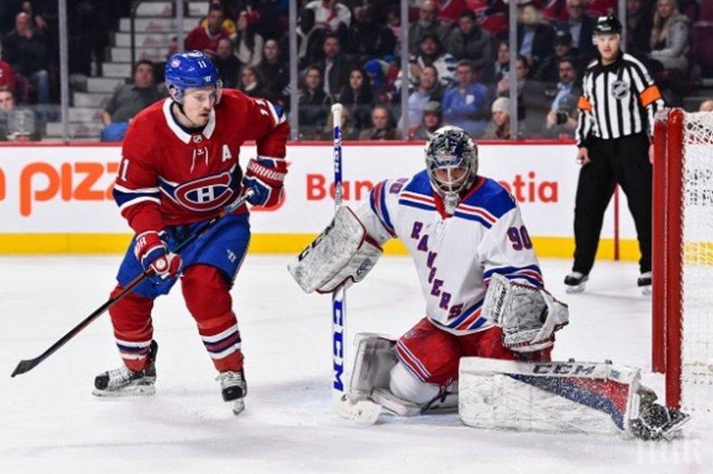 ИСТОРИЧЕСКО! Българин дебютира в НХЛ! Александър Георгиев блестящ за Ню Йорк Рейнджърс
