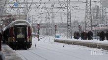 КОШМАР! Кучи студ, във влака от Видин за София (СНИМКА)