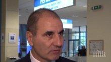 Цветанов: В момента БСП и президентът Румен Радев са едно и целят дестабилизация на страната