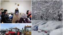 В Пловдив ловят снежинките във въздуха: Готови сме, снегът може да идва