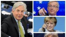 """Джефри ван Орден: Меркел преля последната чашата за """"Брекзита"""" с поканата към бежанците, искат да направят живота ни черен"""