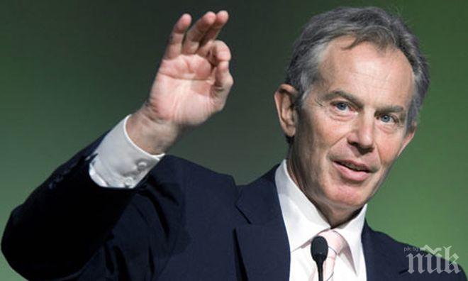 Тони Блеър: Тереза Мей няма надежда да постигне целите на Брекзит