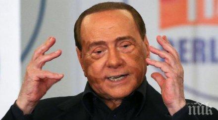 изборите италия берлускони неговата дясна коалиция имат преднина парламентарните избори италия показват повечето екзитполове
