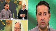 ЕКШЪН В ЕФИР! Георги Харизанов и Кольо Колев се хванаха за гушите за скандала с патриарх Кирил