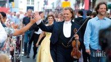 """""""Кралят на валса"""" Андре Рийо продаде билетите в София за три дни, прави втори концерт"""