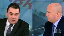 Сашо Симов пита ГЕРБ: Валери Симеонов е нещо като дете идиотче, така ли?