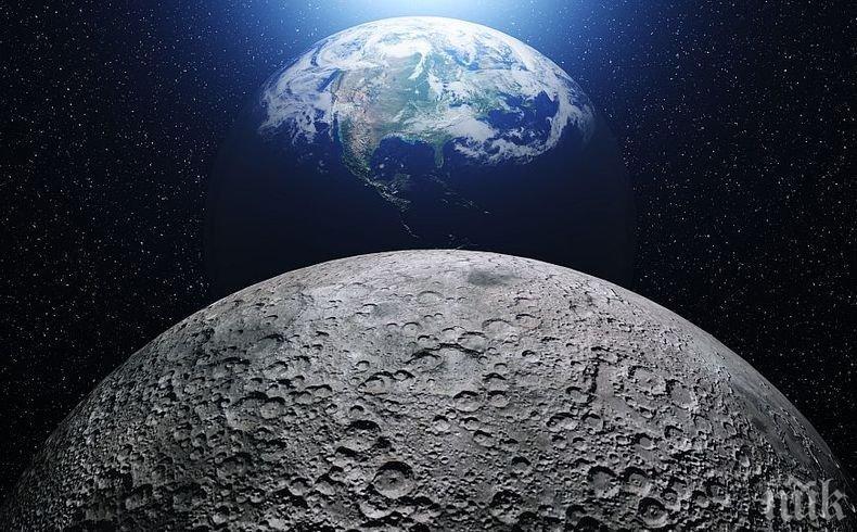 Сензационно! Първата мобилна мрежа на Луната ще бъде изградена през 2019 година