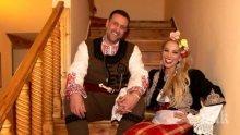 Емилия сияе до любимия си Жорж! Влюбените избухнаха на патриотично парти с джендъра Краси Радков