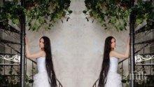 Руската Рапунцел си отгледа 152-сантиметрова коса (СНИМКИ)
