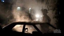 """КОКТЕЙЛ """"МОЛОТОВ""""! Подпалиха колата на таксиметров бос в Петрич"""