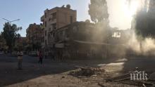 Трима мирни жители са загинали при обстрел на терористи в Дамаск