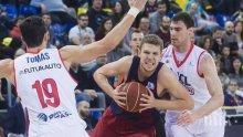 """Барселона спечели баскетболното """"Ел Класико"""", Везенков с 2 точки и една борба"""