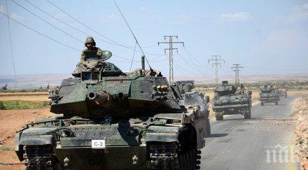 Примката се затяга! Турската армия обгради Африн