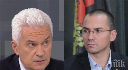 """САМО В ПИК! Ангел Джамбазки с горещи отговори на неудобните въпроси на Волен Сидеров - ето какво да направят лидерът на """"Атака"""" и Валери Симеонов"""
