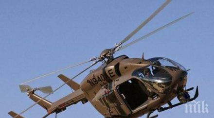 трагедия двама души загинаха падане хеликоптер йорк