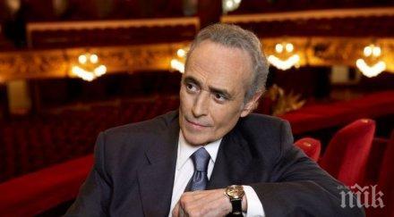 """Стоичков води Хосе Карерас в """"Арена Армеец""""! Ученикът на Маестрото е новата оперна сензация на България"""
