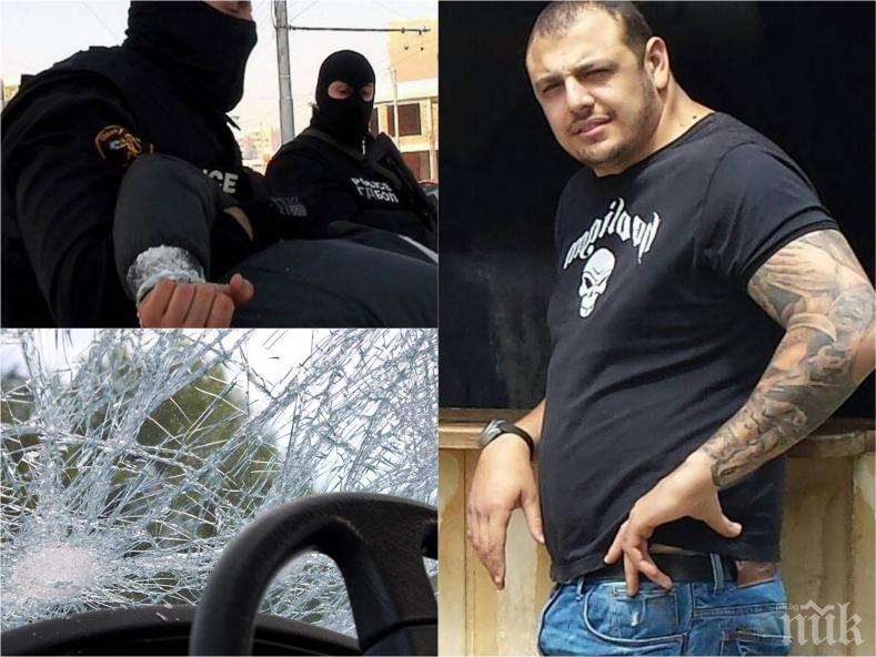 ИЗВЪНРЕДНО! Тикнаха страховития бандит Гаргата в ареста