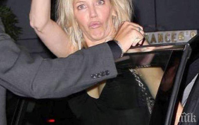 Ербап жена! Холивудската актриса Хедър Локлиър набила полицаи