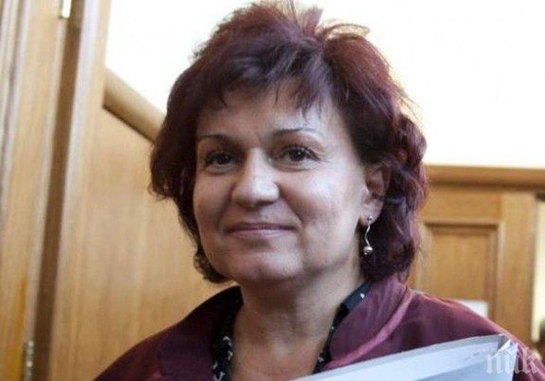 Даниела Попова хвърли оставка като шеф на Апелативната спецпрокуратура